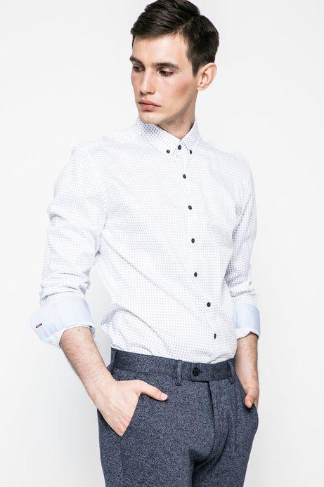 Koszula męska Nocturnal biała