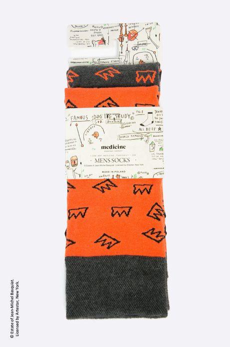Skarpety x Jean-Michel Basquiat (2-pack)