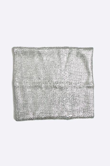 Komin Grey Earth srebrny