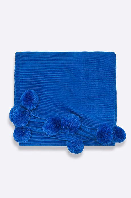 Szal damski Dark Bloom niebieski