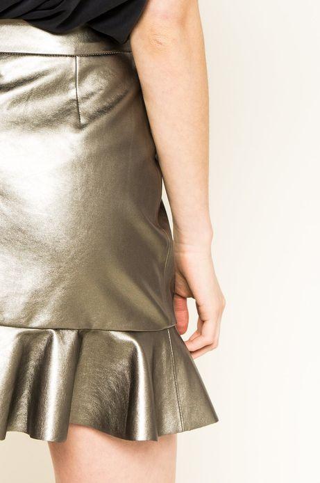 Spódnica Fairground srebrna