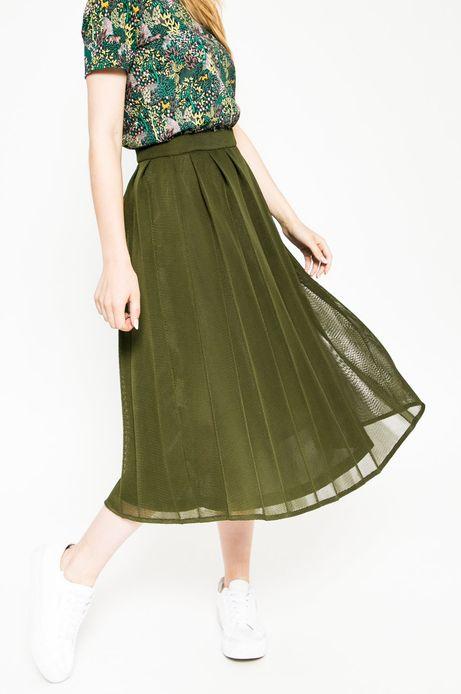 Spódnica Future Past zielona