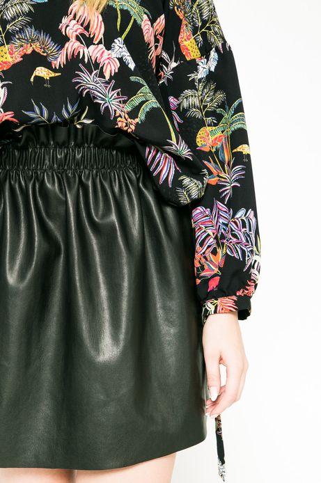 Woman's Spódnica Future Past czarna