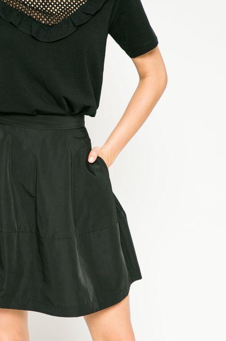 Spódnica damska Dark Bloom czarna