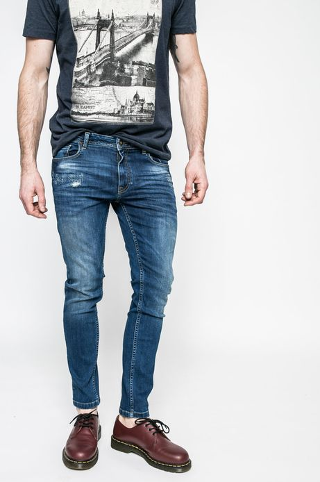 Jeansy męskie skinny