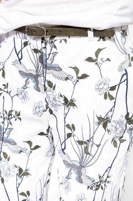 Spodnie Nocturne białe