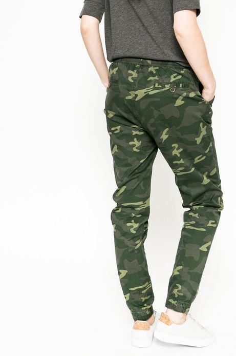 Spodnie Future Past zielone