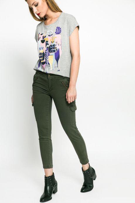 Spodnie Nocturne zielone