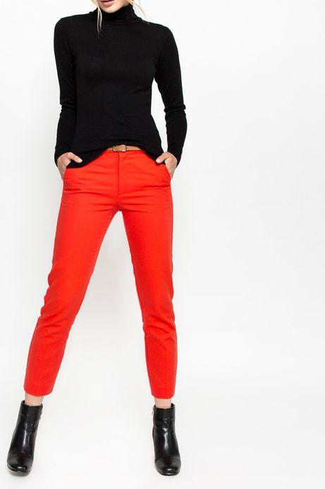 Spodnie Nocturne czerwone