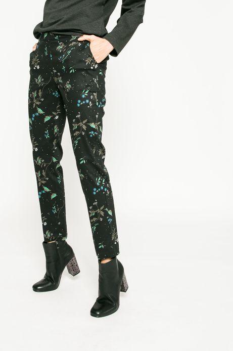 Spodnie damskie Back to Nature czarne