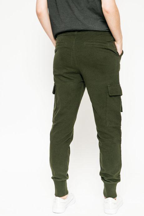 Spodnie Fairground zielone