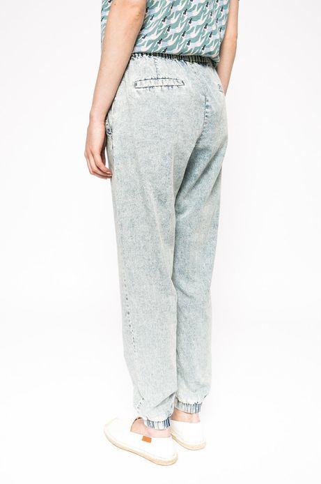 Spodnie The bigger splash niebieskie