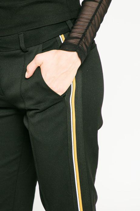 Spodnie damskie Dark Bloom czarne