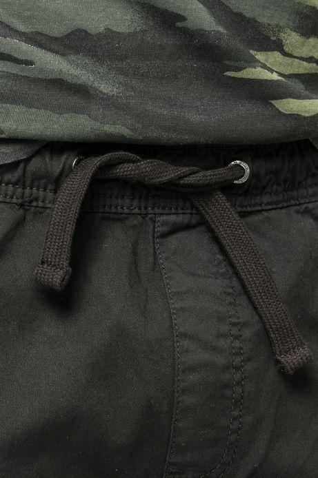 Spodnie Mr. Robot czarne