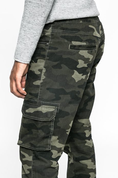Spodnie Let's Rebel zielone