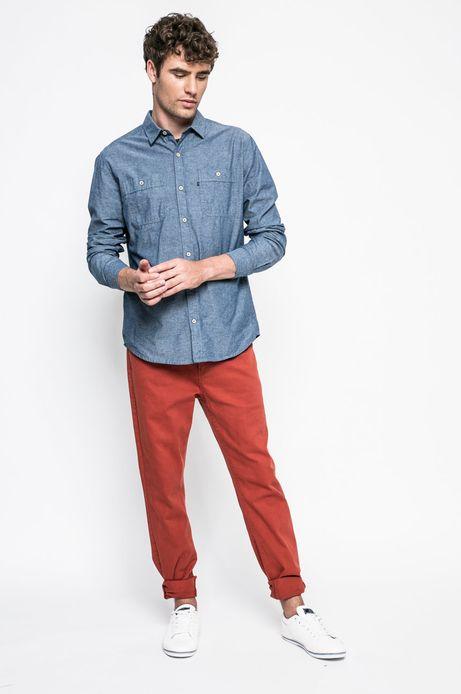 Spodnie męskie pomarańczowe