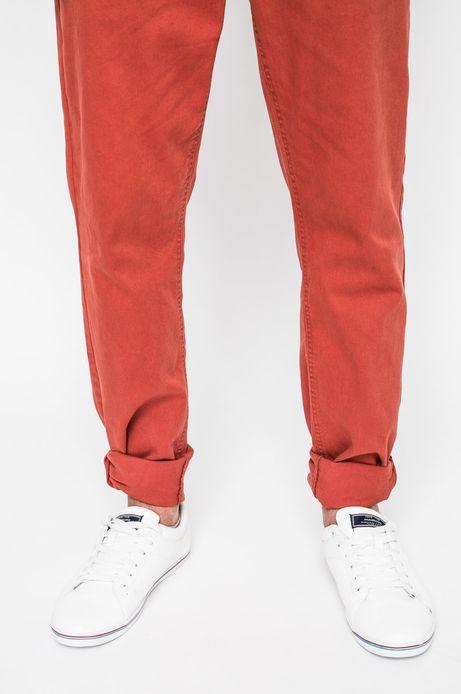 Man's Spodnie Academic Scout pomarańczowe