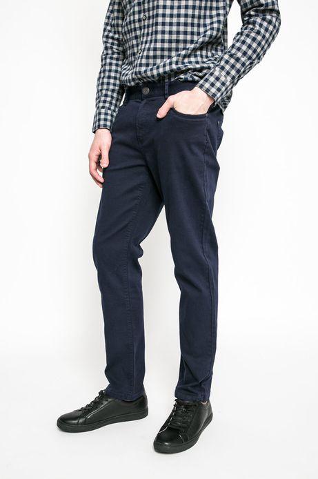 Spodnie męskie granatowe