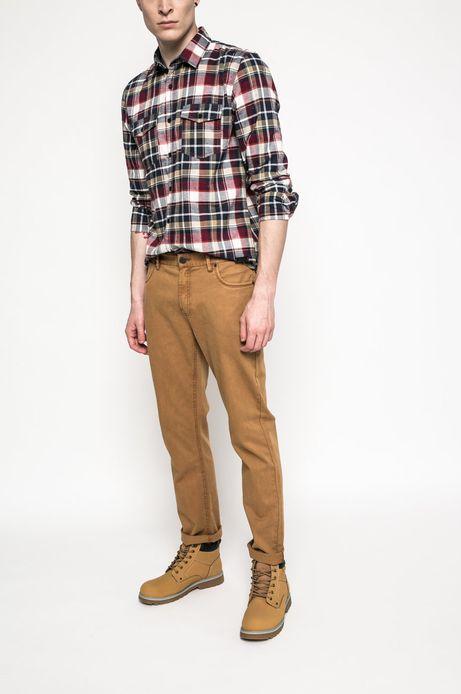 Spodnie Academic Scout brązowe