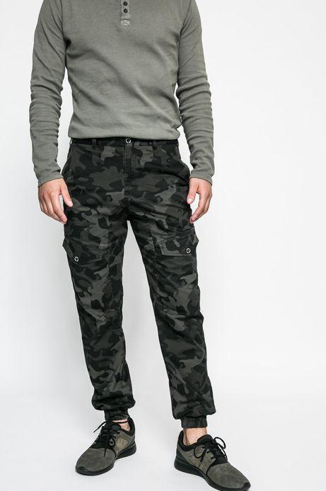 Spodnie męskie Human Nature zielone