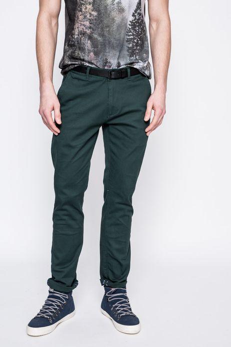 Spodnie męskie Nocturnal ciemnozielone