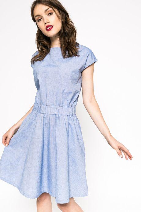 Sukienka The bigger splash różowa
