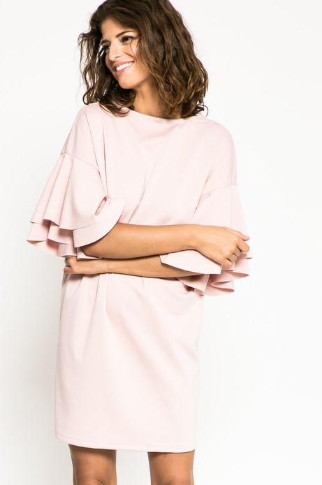 Sukienka Future Past różowa