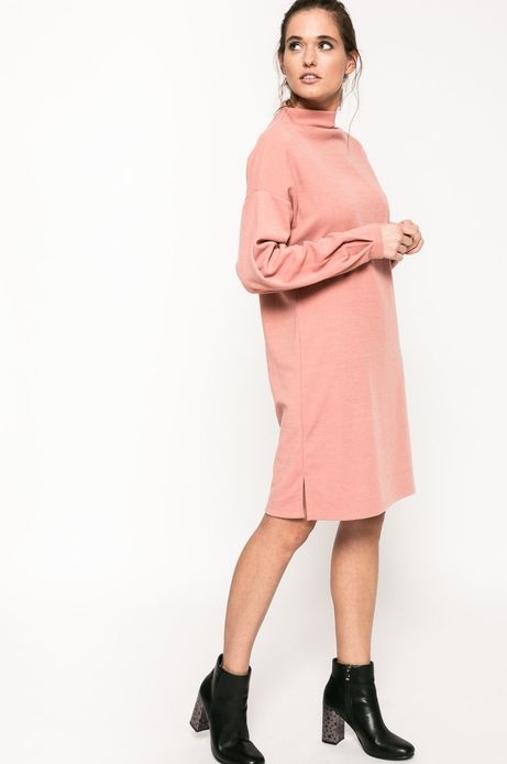 Sukienka Back to Nature różowa
