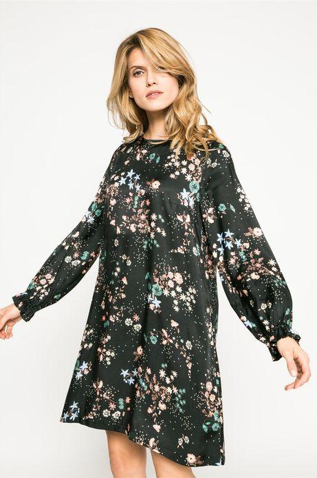 Sukienka damska Dark Bloom multicolor