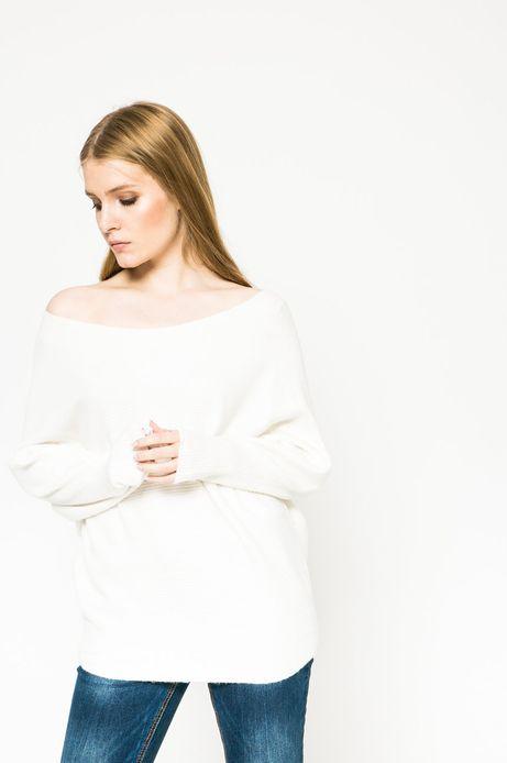 Sweter Future Past kremowy