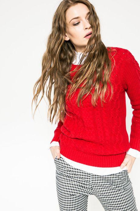 Woman's Sweter Hogwarts czerwony