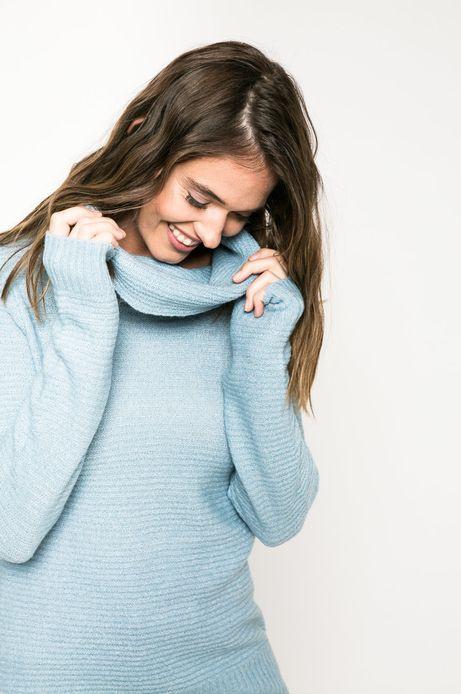 Woman's Sweter Back to Nature niebieski