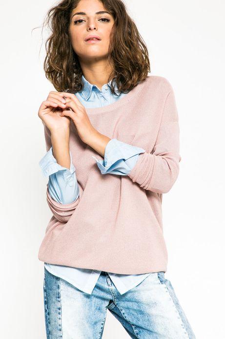 Sweter Future Past różowy
