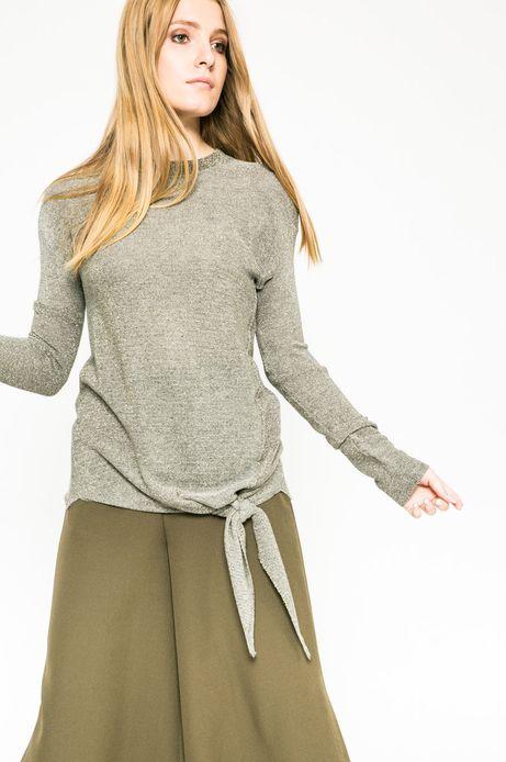 Sweter Future Past złoty