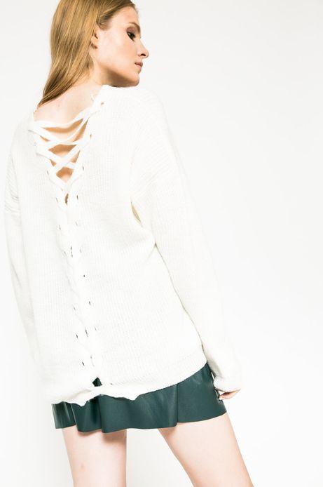 Sweter Future Past biały