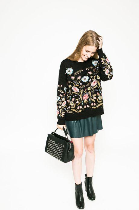 Sweter Future Past czarny
