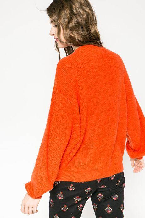 Sweter Hogwarts pomarańczowy
