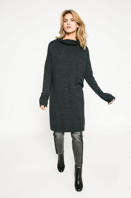 Woman's Sweter damski Dark Bloom granatowy