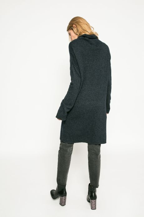 Sweter damski Dark Bloom granatowy