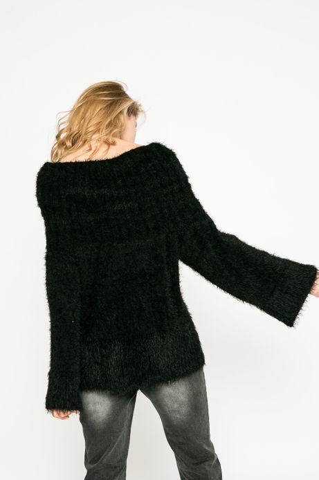 Sweter damski Dark Bloom czarny