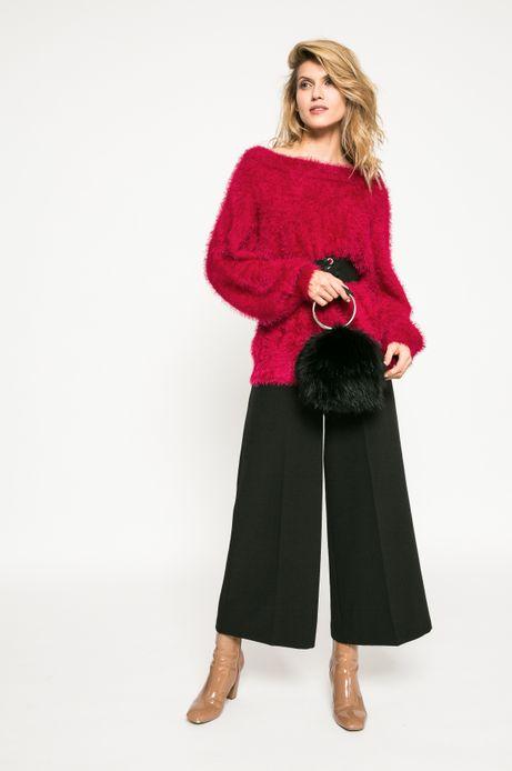 Sweter damski Dark Bloom różowy