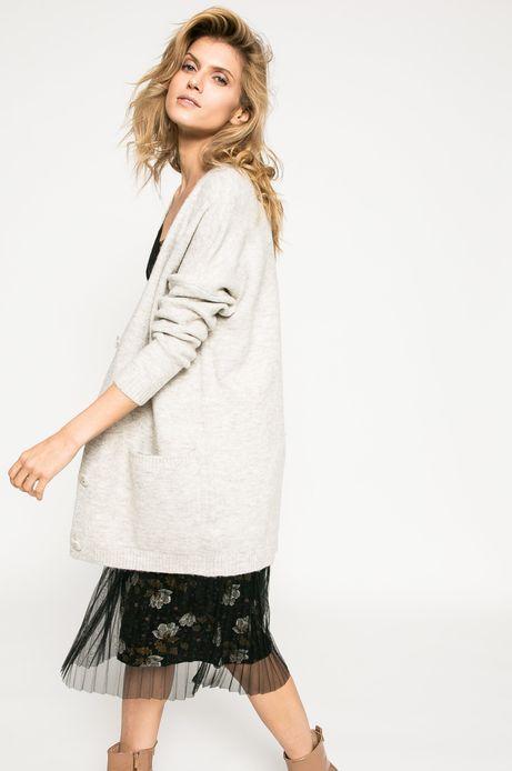 Woman's Sweter damski Dark Bloom kremowy