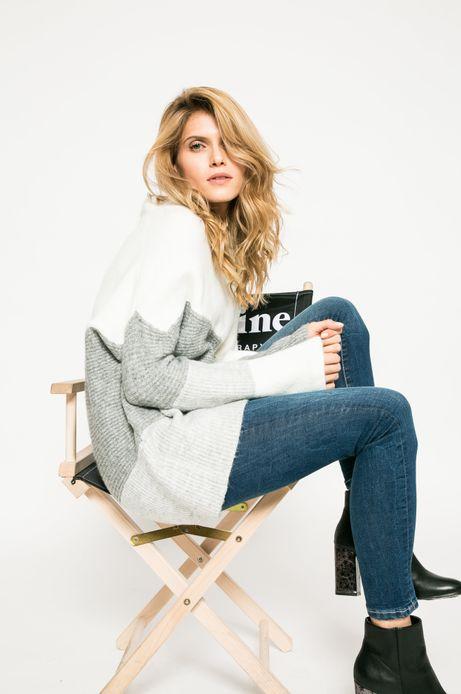 Woman's Sweter damski Stargazer biały