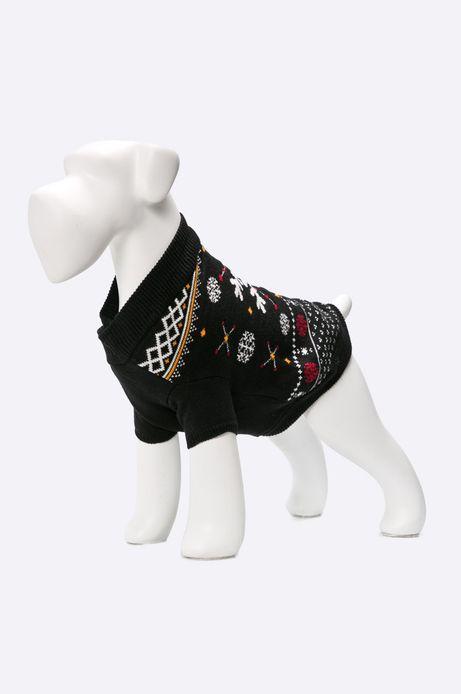 Sweter dla psa czarny