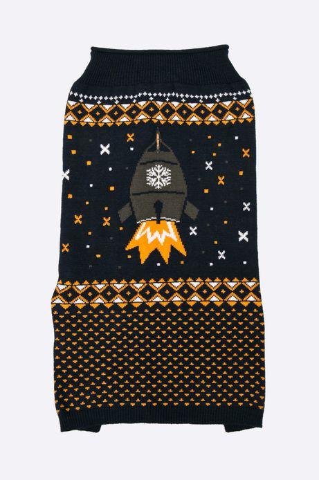 Sweter dla psa Xmas granatowy