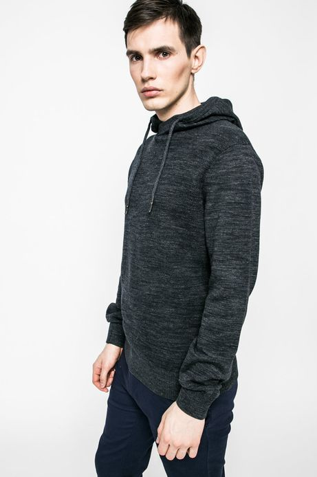 Man's Sweter Nocturnal granatowy