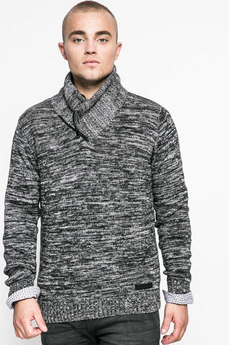 Man's Sweter męski Human Nature szary