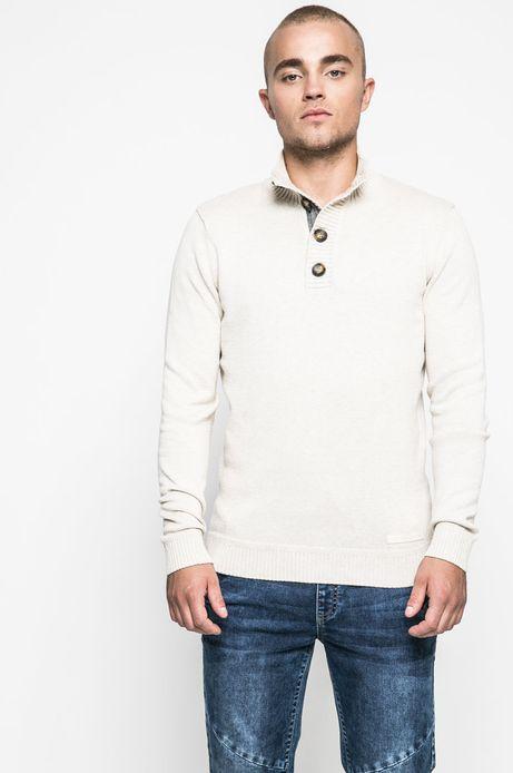 Man's Sweter męski Human Nature piaskowy