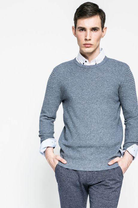 Man's Sweter męski Lord and Master niebieski