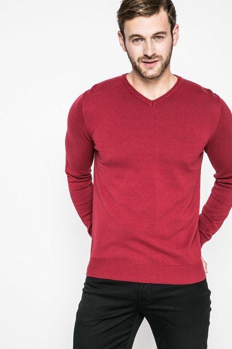Man's Sweter męski Lord and Master czerwony